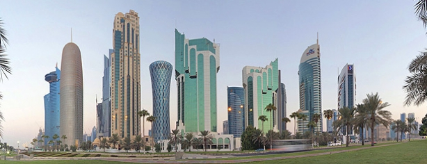 digital totems for adlq doha qatar