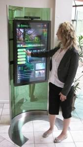 Interactive Digital Signage Totem StandOut 46