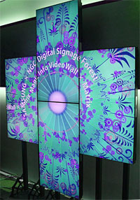 Digital signage video wall ArtWall Matrix