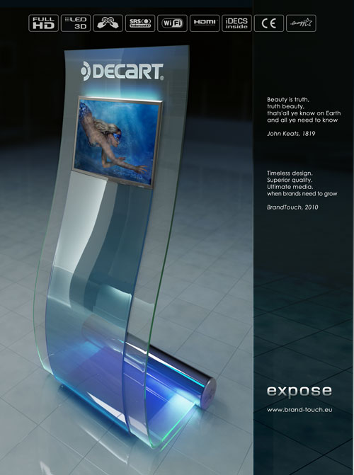 Expose Digital Signage Kiosk on the cover of B2B New Magazine