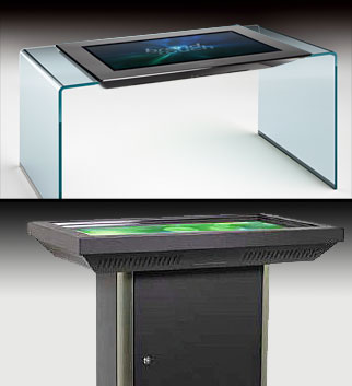multi-user multi-touch table ArtSurface