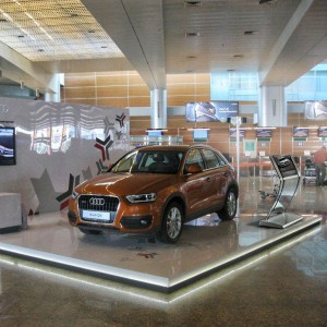 interactive stand Clarity for Audi